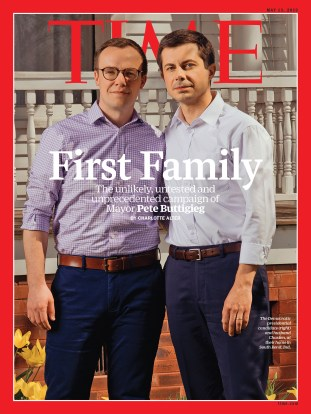 Image result for buttigieg husband