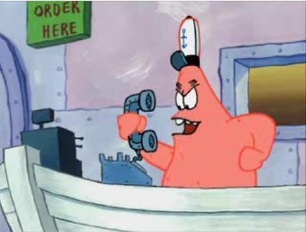 Spongebob Squarepants Savage Patrick T Shirt