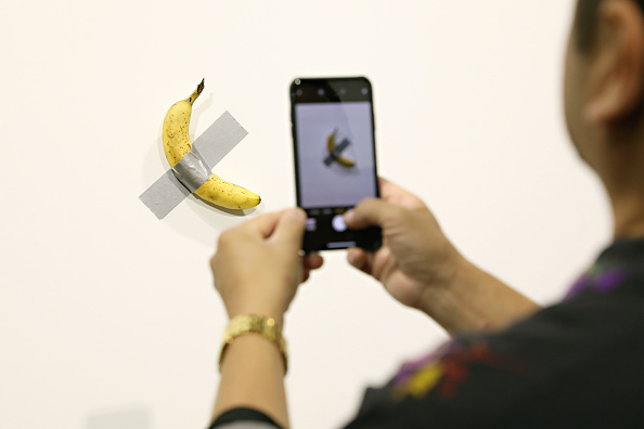 Why You Re Seeing Taped Up Bananas All Over The Internet Time