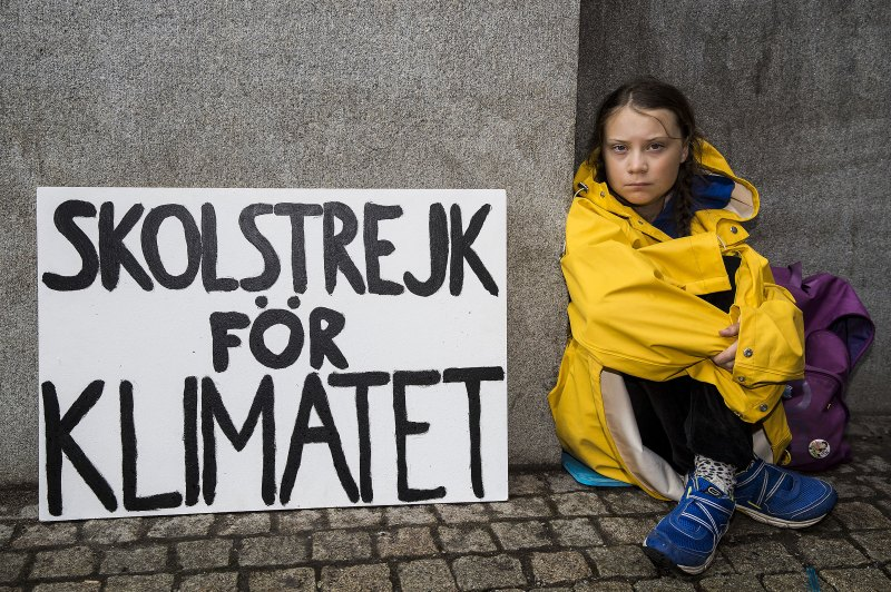 瑞典環保少女 Greta Thunberg