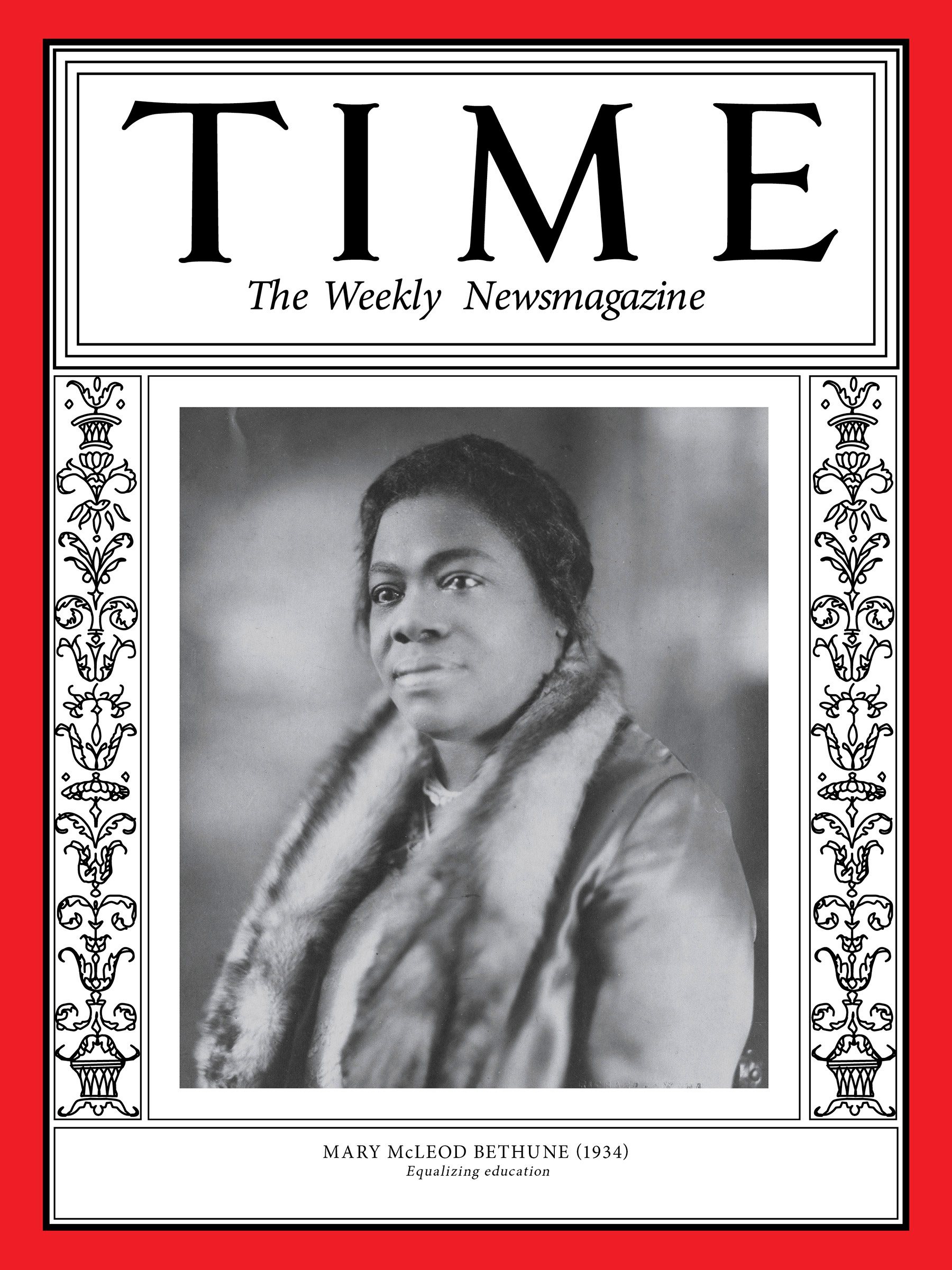 Mary Mcleod Bethune 100 Women Of The Year
