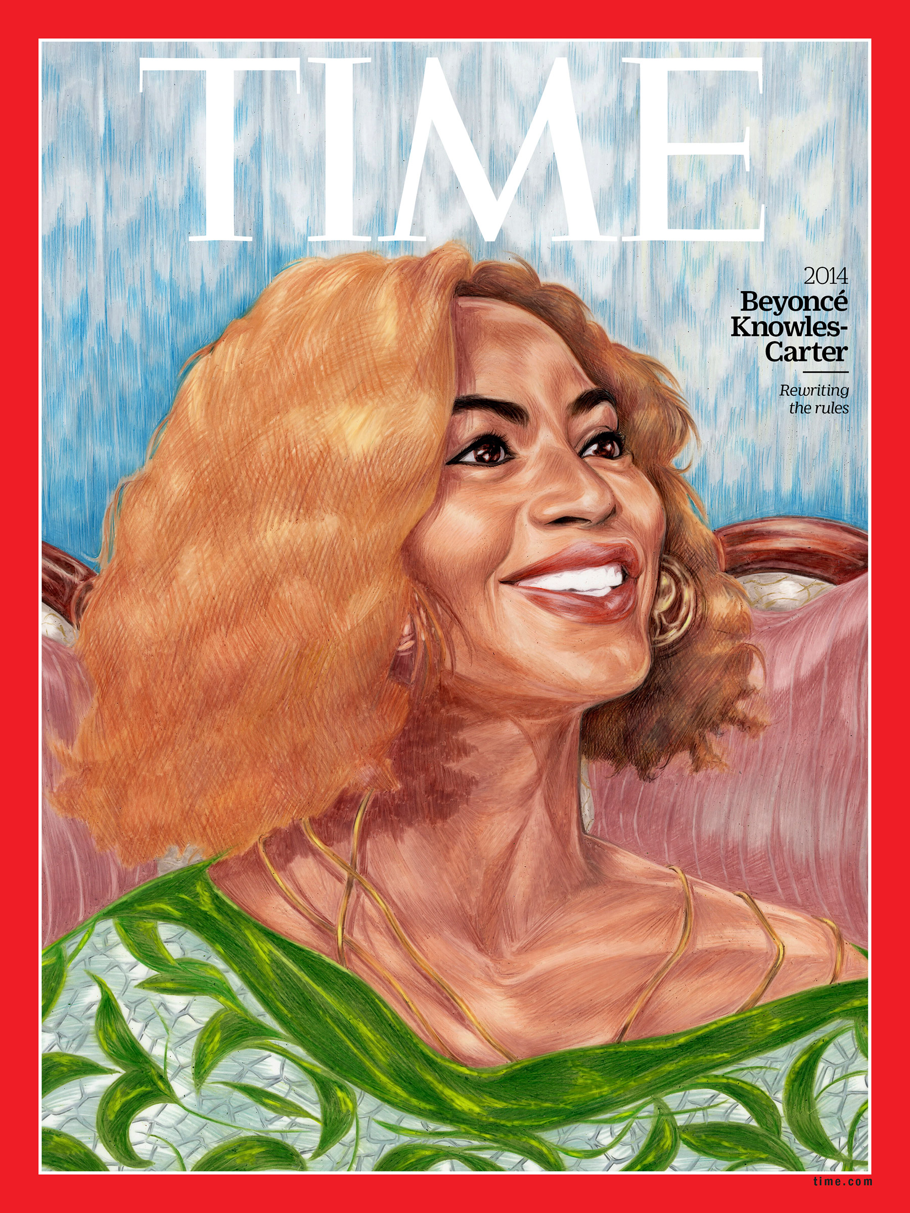 beyonce 100 women of the year time