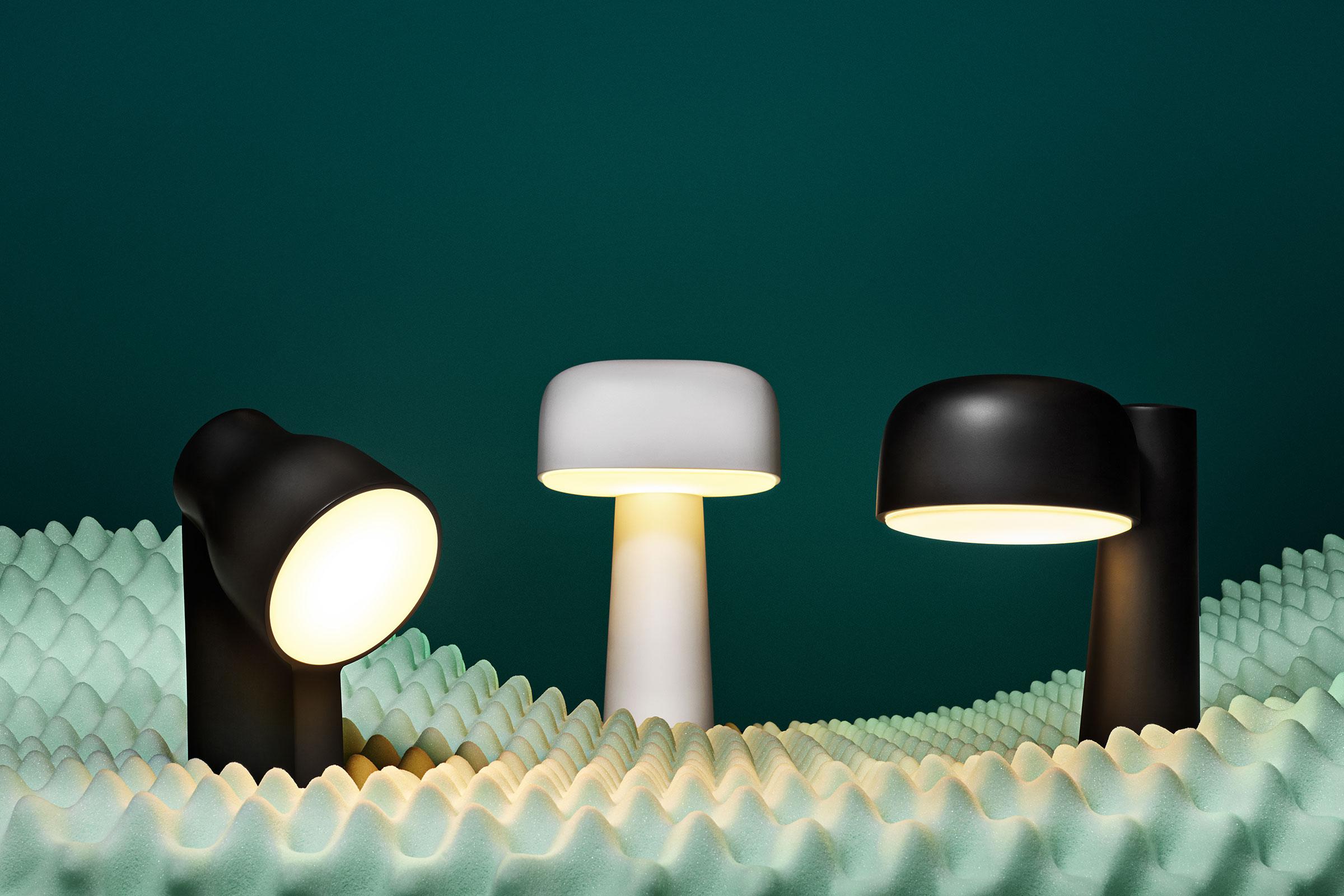 ammunition x gantri 3 d printed lights