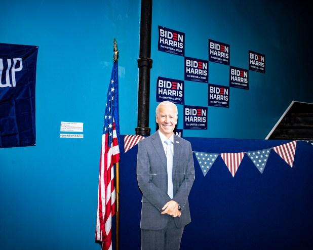 El estilo diferente de las campañas, y de sus partidarios, se hizo eco en sus oficinas de Pensilvania.