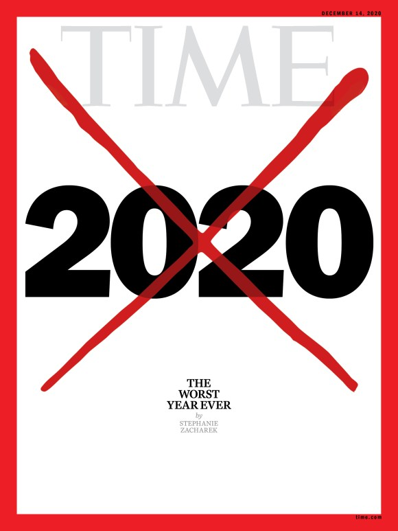 The Worst Year Ever 2020 X Time Magazine cover