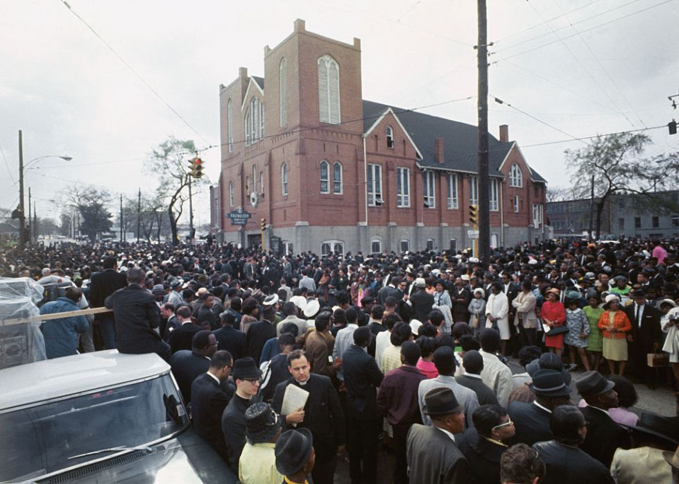 Funeral March for Martin Luther King Jr
