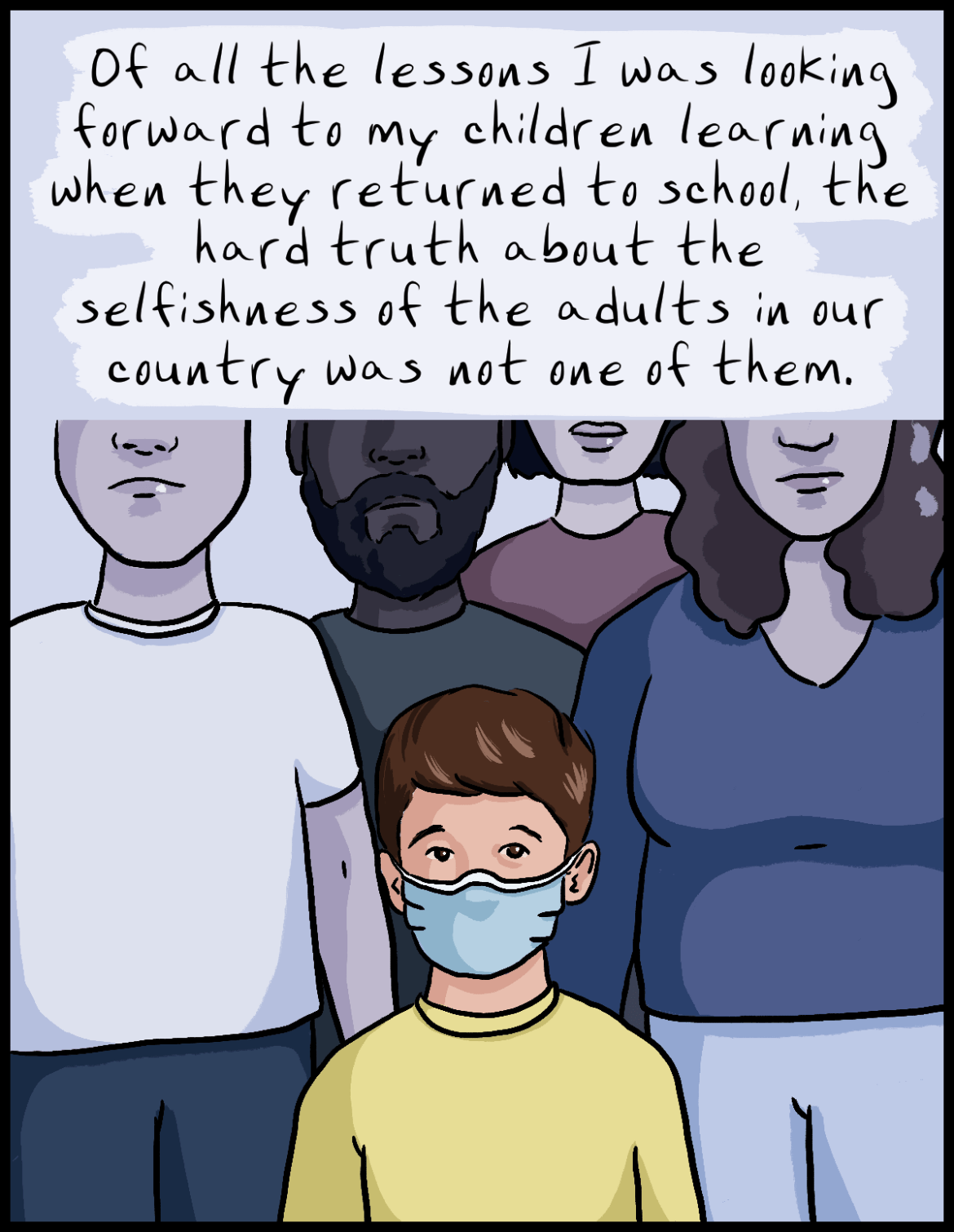 Parents had dreamed of a smooth return to school this fall.  This is the nightmare we face instead