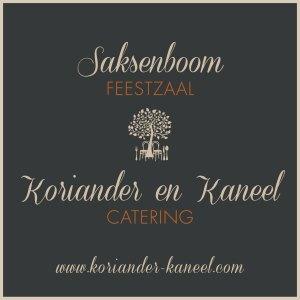 Feestzaal Saksenboom - Catering Koriander en Kaneel