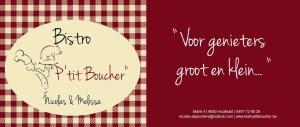 """Bistro """"P'tit Boucher"""""""