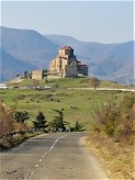 drive through Jvari Monastery