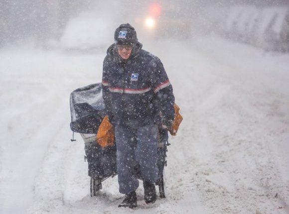 Photos Of New York City Blizzard January 4