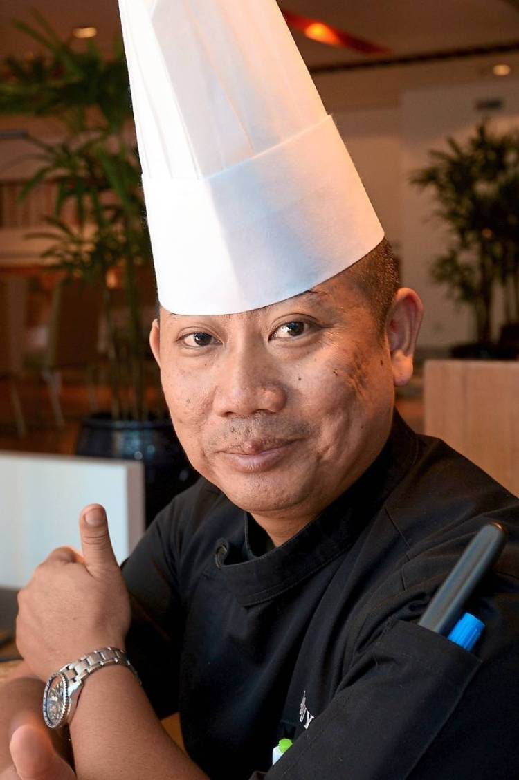 Sharusmizal has imbued his Valentine's Day menu with Asian flavours.