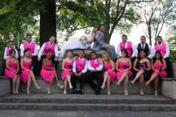 57-wedding_photography-bridal_party-pink_bridesmaid_dress