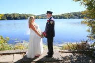 #justmarried, #njwedding, #apicturesquememoryphotography, #weddings, #firefighterwedding, #pomptonlakesnjwedding, #brideandgroom, #njweddingphotography, #weddingphotographer