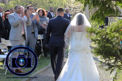 #njwedding, #njweddingphotography, #bloomfieldphotographer, #apicturesquememoryphotography, #oaksidemansionwedding, #oaksidebloomfieldculturalcenter, #weddingphotos, #outsideceremony, #bridesprocession