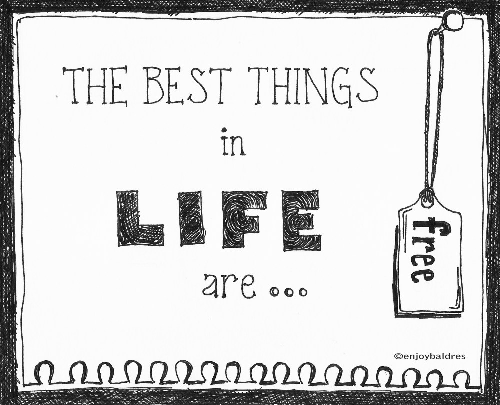 The Best Things in Life are FREE! (1/2)