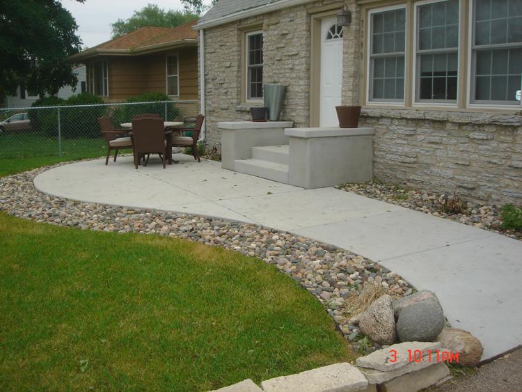 concrete patios a pietig concrete