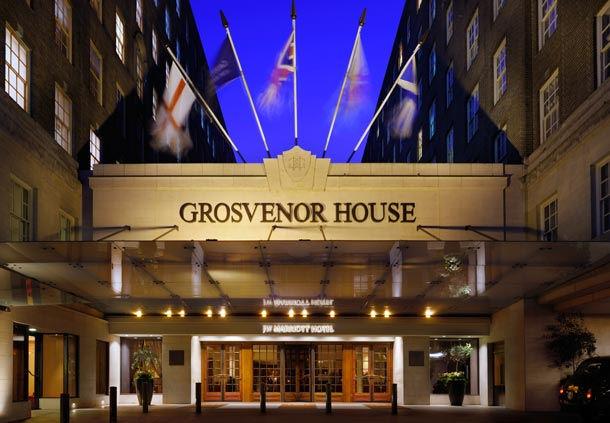 Grosvenor House entrance