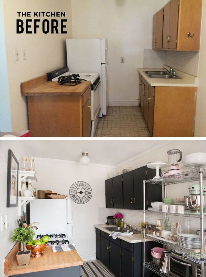 58+ One Simple Trick for Kitchen Decor Ideas Apartment Small ...