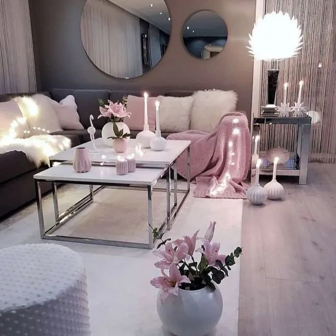 18 Outrageous Grey And Pink Living Room Ideas Decor Tips Apikhome Com