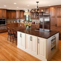 +25 Possible Warning Signs on Dark Cherry Cabinets Kitchen Farmhouse You Should Know