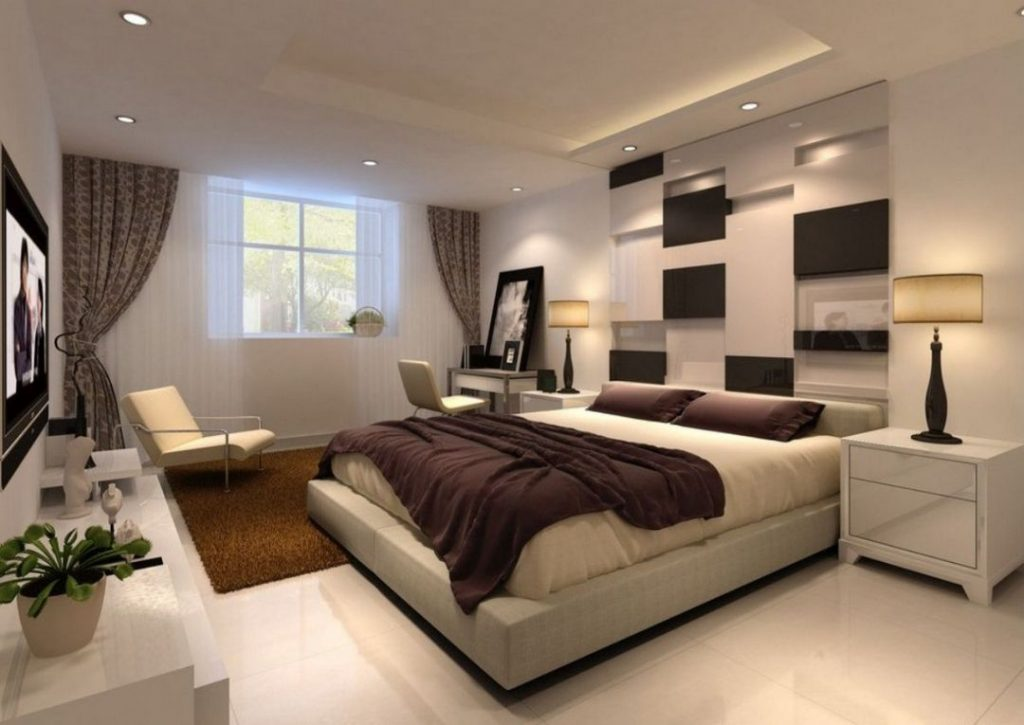 22 The Fight Against Modern And Romantic Master Bedroom