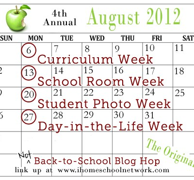 """4th Annual """"Not"""" Back-to-School Blog Hop"""