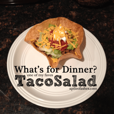What's For Dinner? : Taco Salads
