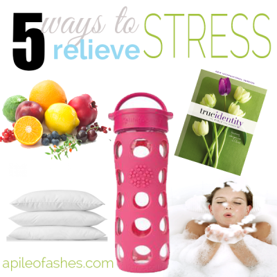 5 Ways to Relieve Stress {& Essential Oils to Help}