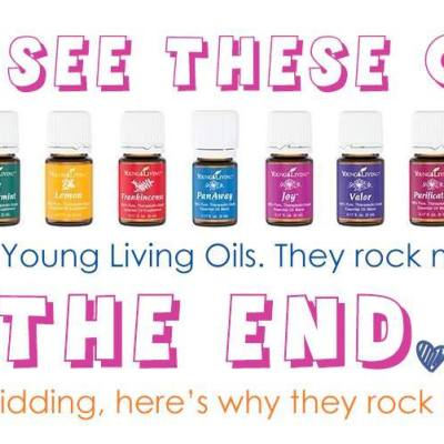 Oils, They rock my world!