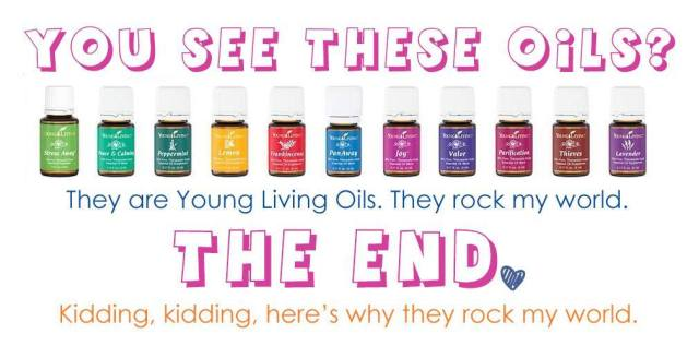 Young Living Essential Oils ROCK!  apileofashes.com
