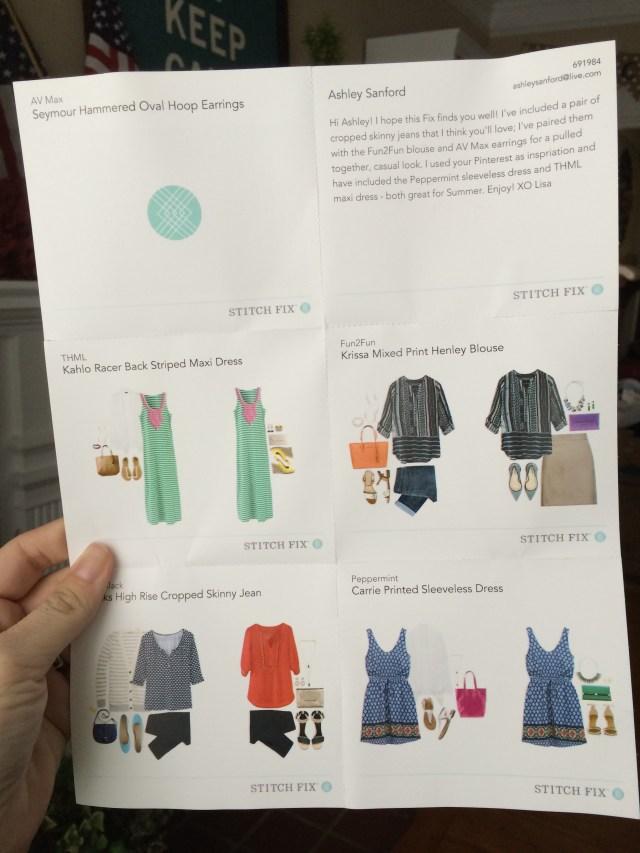 Stitch Fix #2 | Summer Style * apileofAshes