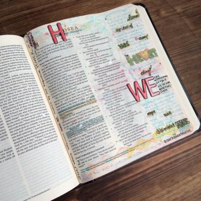Journaling Bible | Study of Hosea Day 1