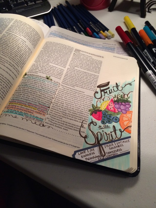 Journaling Bible | Fruit of the Spirit | apileofashes.com