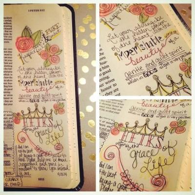 Journaling Bible | Respectful & Pure | apileofashes.com