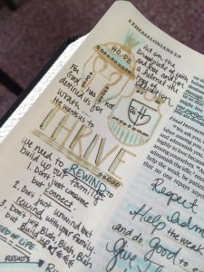 Journaling Bible | THRIVE