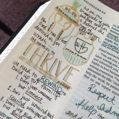 Journaling Bible | THRIVE apileofashes.com