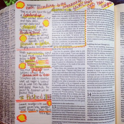 Journaling Bible | The Gift of Leadership