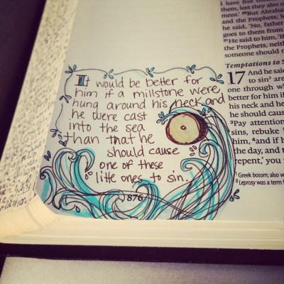 Journaling Bible | Humility apileofashes.com