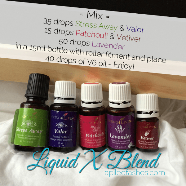 Liquid X Blend | apileofashes.com