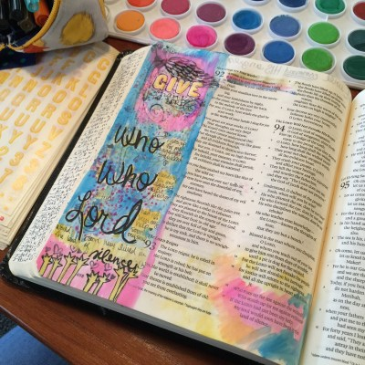 Journaling Bible | Who Rises Up For Me