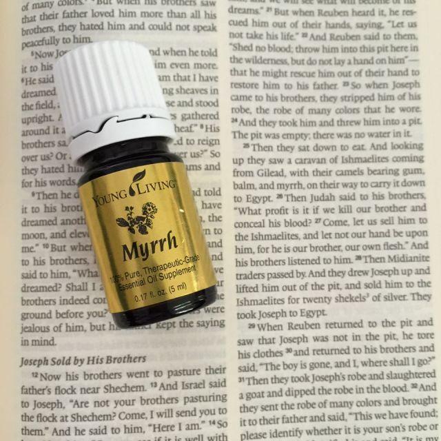 Essential Oils and God's Word | Myrrh | apileofashes.com
