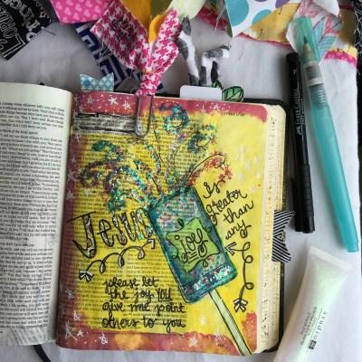 Journaling Bible | JESUS = JOY
