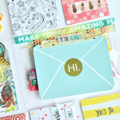 Pocket Letter Happy Mail for some friends!
