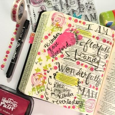 Journaling Bible   Kimber Rose