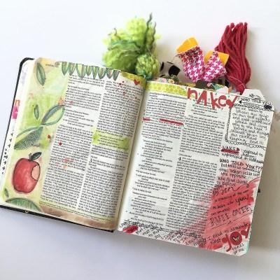 Journaling Bible | IF Beautiful Kit Day 1