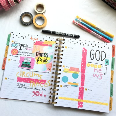Plan with Me | IF Planner August 8th-Aug 14th