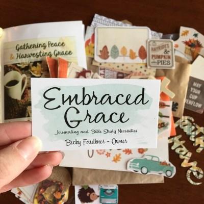 Bible Journaling   Embraced Grace