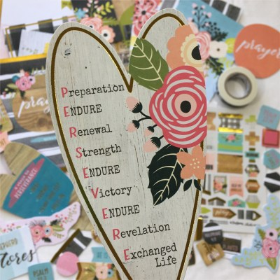 Persevere | Illustrated Faith Bible Journaling Kit & New BIBLES