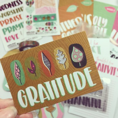 Gratitude | Illustrated Faith Monthly Bible Journaling Kit